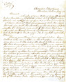 From Peter P. Pitchlynn (Executive Office, Choctaw Nation).  To Cyrus Bussey.  Dated July 1865. ...
