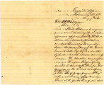 From Winchester Colbert, Governor of the Chickasaw Nation (Tishomingo, Chickasaw Nation).  To...