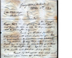 From Uncle Mooshulatubbee (Georgetown, Kentucky).  To Peter P. Pitchlynn.  Dated Oct. 10, 1824. ...