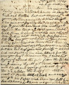 From John Pitchlynn.  To Peter P. Pitchlynn.  Dated Sept.  13, 1834.  Re: illness in family,...