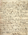 From John Pitchlynn.  To Peter P. Pitchlynn.  Dated Sept. 30, 1834.  Re: illness of P.P....