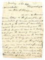 From Richard M. Johnson (Washington, D.C.) To Peter P. Pitchlynn.  Dated Feb. 7, 1841.  Re:...