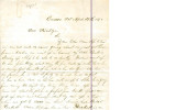 From Loring S.W. Folsom (Caddo, C.N.).  To Peter P. Pitchlynn.  Dated April 29, 1878.  Re: local...