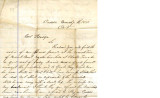 From Loring S.W. Folsom (Caddo, C.N.).  To Peter P. Pitchlynn.  Dated Mar. 7, 1880.  Re:  the...