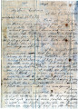 From Rhoda Pitchlynn.  To Peter P. Pitchlynn.  Dated Jan. 15, 1842.  Re: missing him and wanting...