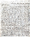 From David Folsom (Chahta Tamaha).  To Peter P. Pitchlynn.  Dated Jan. 26, 1842.  Re: problems...