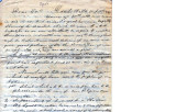 From David Folsom (Doaksville, C.N.).  To Peter P. Pitchlynn.  Dated Oct. 1, 1842.  Re: list of...