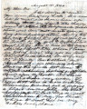 From Peter P. Pitchlynn.  To McKee Folsom.  Dated Aug. 15, 1844.  Re:  death of Aunt Elisja and...