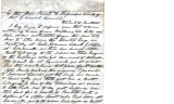 From Peter P. Pitchlynn.  To the General Council of the Choctaw Nation.  Dated 1845.  Re: request...