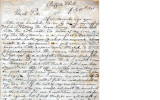 From Jacob Folsom (Buffalo Scull).  To Peter P. Pitchlynn.  Dated July 31, 1845.  Re: description...