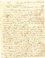 From David Folsom (Doaksville, C.N.).  To Peter P. Pitchlynn.  Dated Jan. 16, 1846.  Re: relations...