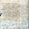 From Rhoda Pitchlynn.  To Peter P. Pitchlynn.  Dated Sept. 23. 1841.  Re: illness of children,...