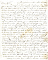 From Peter P. Pitchlynn.  To Gideon Lincecum.  Dated Nov. 12, 1846.  Re: meeting of Indians on his...