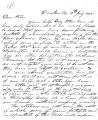 From Emuckpha (Fort Towson, C.N.).  To Peter P. Pitchlynn.  Dated Nov. 20, 1848.  Re: relating the...