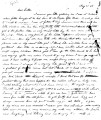 From Malvina Pitchlynn Folsom.  To Lycurgus Pitchlynn.  Dated May 20, 1849.  Re: family news; her...