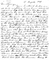 From Peter P. Pitchlynn.  To Lycurgus Pitchlynn.  Dated Aug. 17, 1849.  Re: sickness among family...