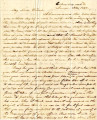 From Gideon Lincecum (Columbus, Mississippi).  To Peter P. Pitchlynn.  Dated June 13, 1846.  Re:...