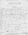 From Peter P. Pitchlynn, Jr.  To Peter P. Pitchlynn.  Dated April 18, 1854.  Re: fight in his...