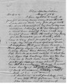 From Thomas j. Pitchlynn (Blue,  C.N.).  To Peter P. Pitchlynn.  Dated May 5, 1854.  Re; death of...