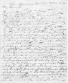 From Nathan Green (Lebanon Lennapu).  To David Lowry.  Dated Feb. 10, 1854.  Re: fights of...