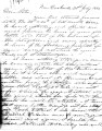 From Robert M. Jones (near Doaksville, C.N.).  To Peter P. Pitchlynn.  Dated July 21, 1854.  Re:...