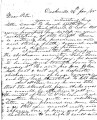 From Robert M. Jones (Doaksville, C.N.).  To Peter P. Pitchlynn.  Dated Jan. 26, 1855.  Re: the...