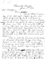 From Dixon W. Lewis (Somerville, Tennessee).  To Peter P. Pitchlynn.  Dated June 3, 1856.  Re:...